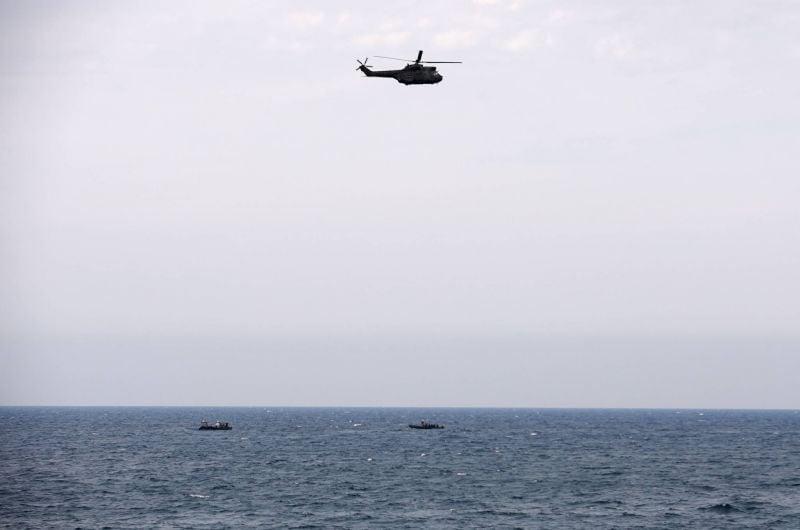 Un avion d'entraînement s'écrase au large de Halat, ses deux occupants portés disparus