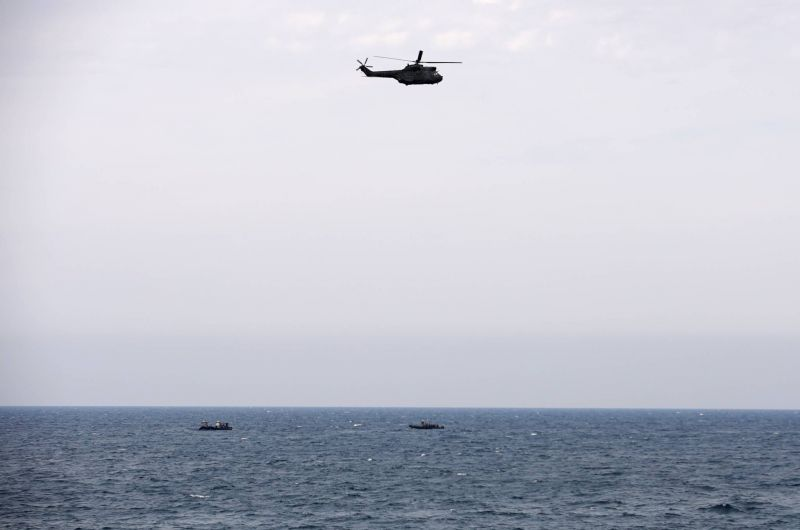 Search-and-rescue operation ongoing for missing men after plane crashes off northern coast