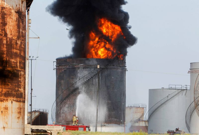 Zahrani oil facility fire, third cabinet meeting, Nasrallah criticizes Bitar: What to know today