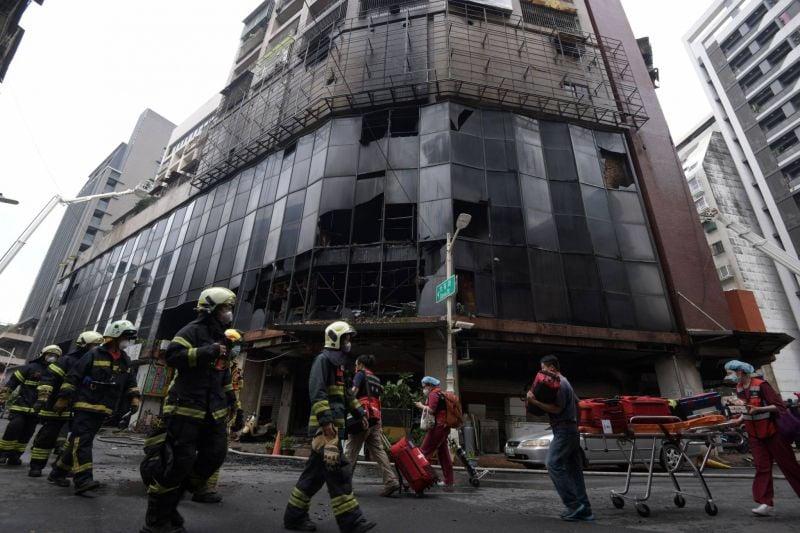 Taiwan: 46 Tote bei Gebäudebrand, einer der tödlichsten der Welt