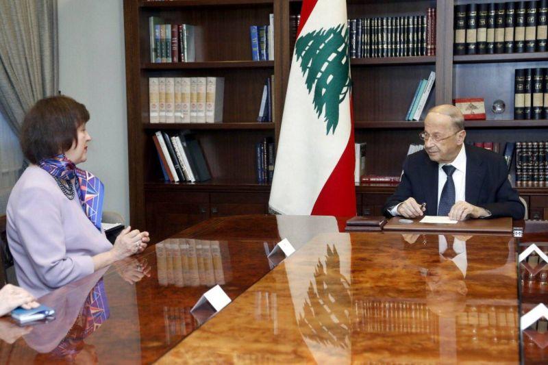 Efforts en cours pour lancer les négociations avec le FMI, assure Aoun à Wronecka