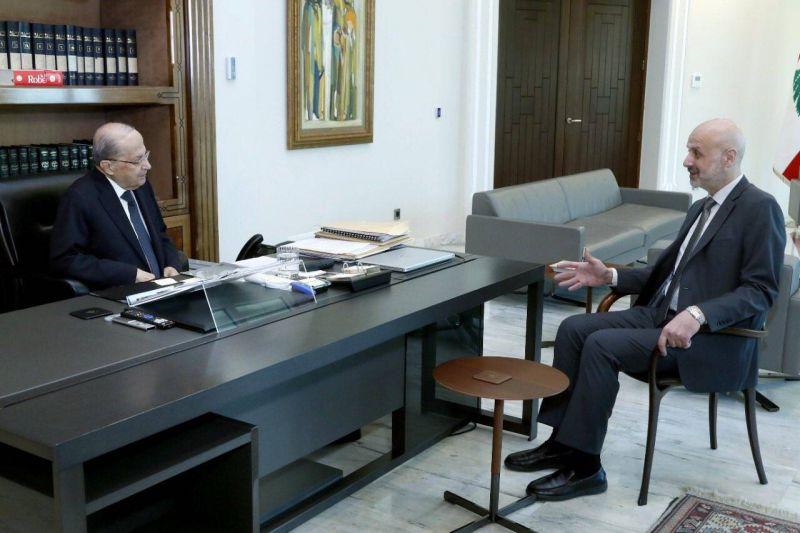 Aoun s'entretient avec Maoulaoui au sujet des élections
