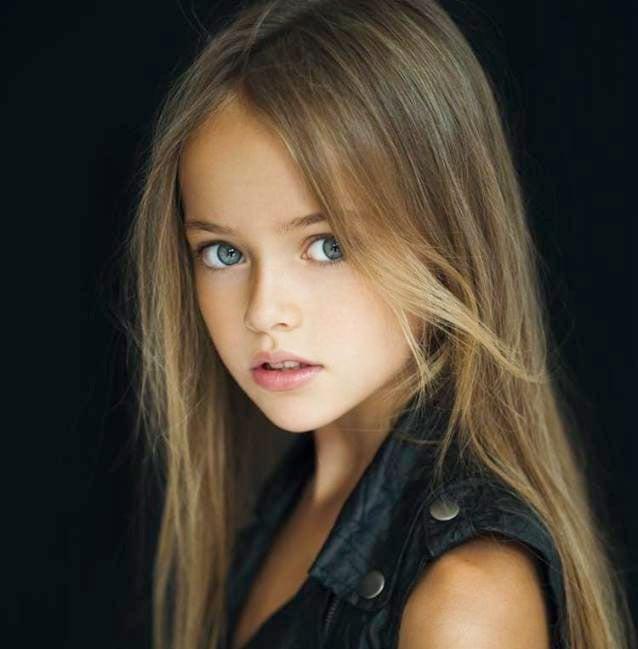 la plus belle fillette du monde